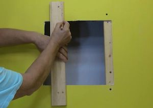 How To Repair Large Holes In Walls And Ceilings Do It Yourself