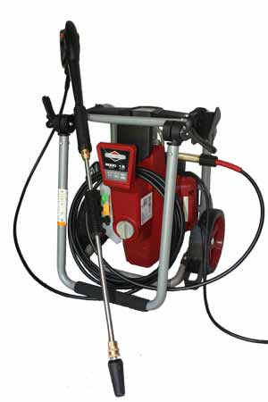 electric powered pressure washer