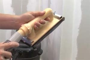 How to Sand Drywall Without Dust - Do-it-yourself-help com