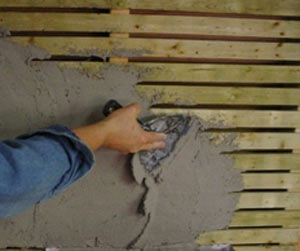 How to Repair and Restore Wood Lath Plaster - Do-it-yourself-help.com