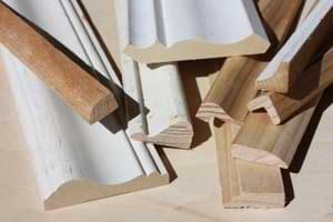 9 Wood Trim Molding Samples
