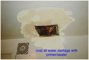 How To Repair Drywall Water Damage Do It Yourself Help Com